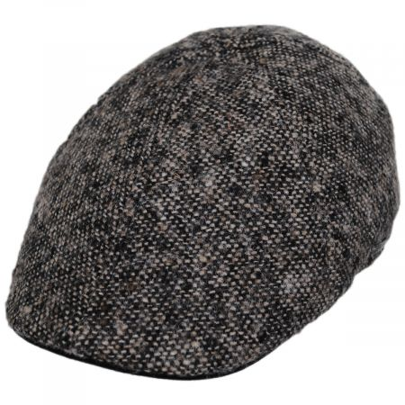 Donegal Marl Tweed Wool and Cotton Duckbill Cap alternate view 1