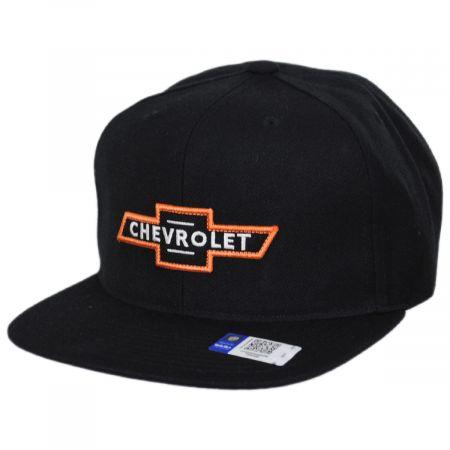 Brixton Hats Chevrolet Bow Tie MP Trucker Snapback Baseball Cap