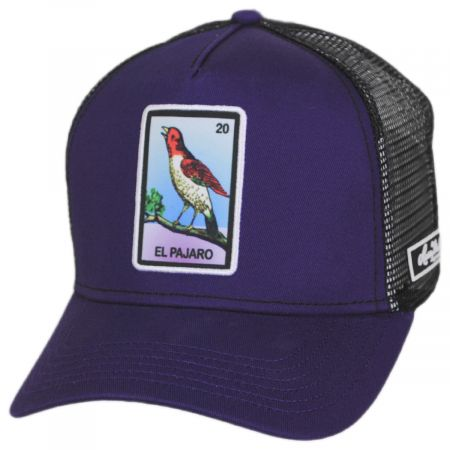 Loteria El Pajaro Snapback Trucker Baseball Cap alternate view 1