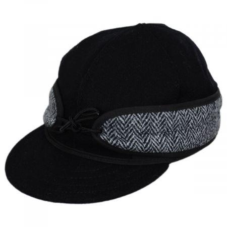 Harris Tweed Wool and Cotton Blend SK Cap alternate view 5