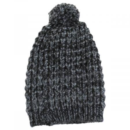 Slouchy Pom Beanie Hat alternate view 3