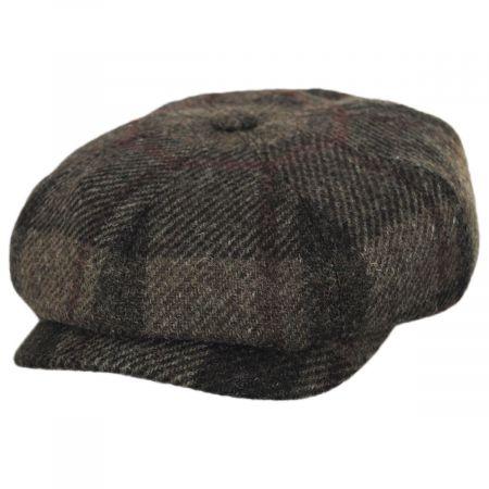 Harris Tweed Wool Newsboy Cap alternate view 9
