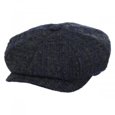 Boucle Wool Blend Newsboy Cap