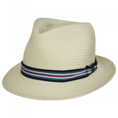 Kross Paper Straw Trilby Fedora Hat alternate view 13