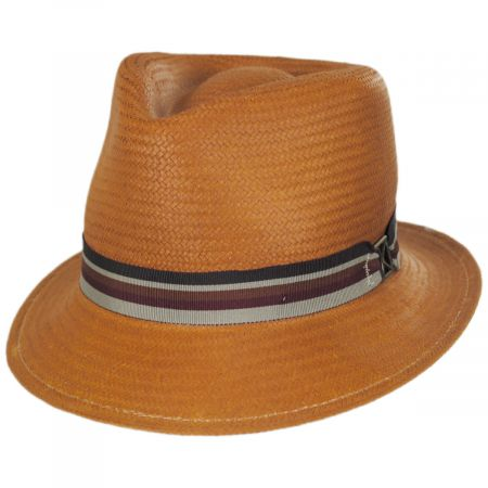 Kross Paper Straw Trilby Fedora Hat alternate view 1