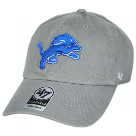 47 Brand Detroit Lions Cleanup Snapback Baseball Cap