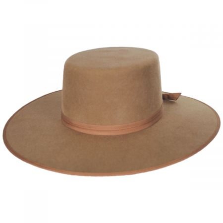 Rancher Wool Felt Boater Hat