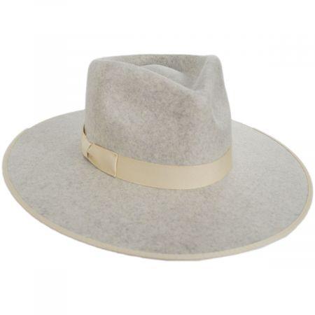 Rancher Wool Felt Fedora Hat