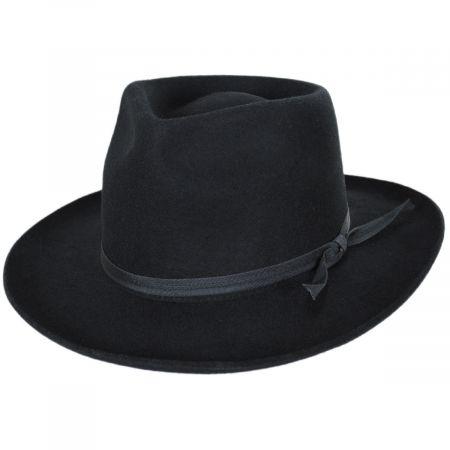 Jethro Wool Felt Fedora Hat