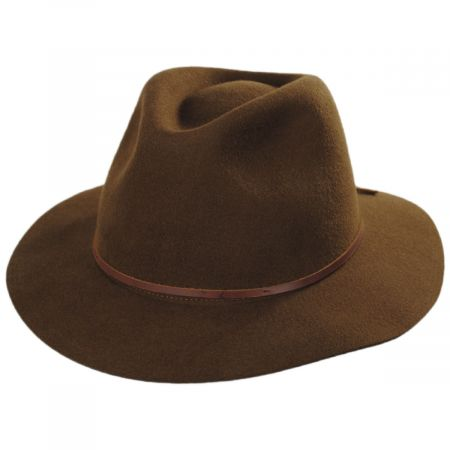 Wesley Wool Felt Floppy Fedora Hat alternate view 10