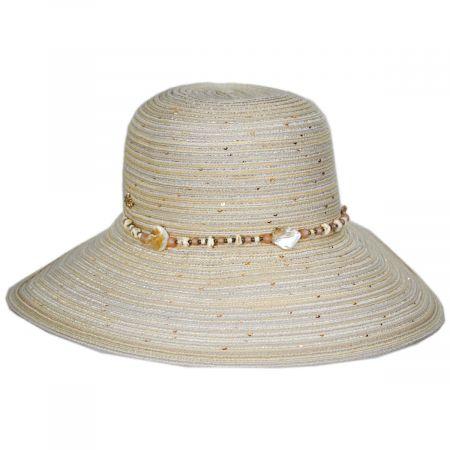 Cappelli Straworld Scallop Braid Facesaver Hat