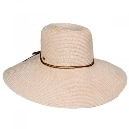 Cappelli Straworld Waverly Sequin Toyo Straw Blend Swinger Sun Hat