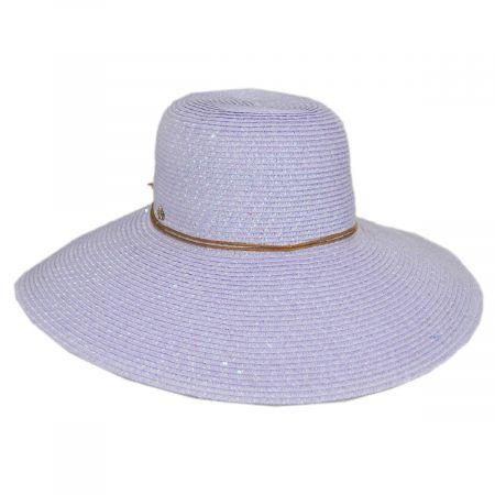 Waverly Sequin Toyo Straw Blend Swinger Sun Hat alternate view 5