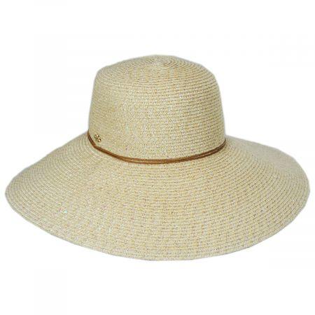 Waverly Sequin Toyo Straw Blend Swinger Sun Hat alternate view 10