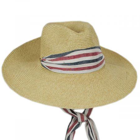 Cappelli Straworld Heritage Toyo Straw Blend Safari Fedora Hat