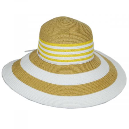 Ahina Toyo Straw Blend Lampshade Sun Hat