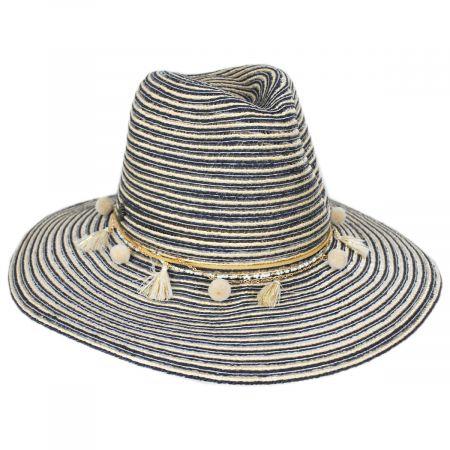 Raeni Toyo Straw Blend Safari Fedora Hat alternate view 5