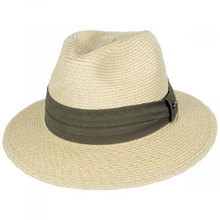Cay Sal Toyo Straw Safari Fedora Hat