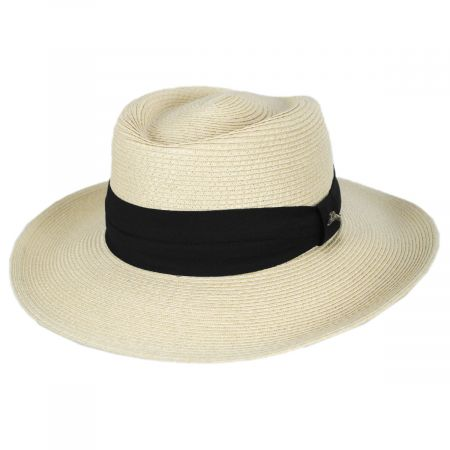 Tommy Bahama Andros Toyo Straw Gambler Hat
