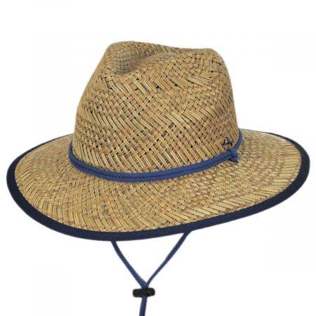 Bondi Rush Straw Safari Fedora Hat