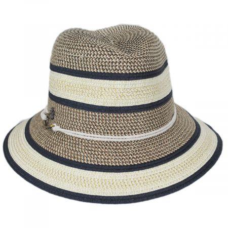 Tommy Bahama Verita Toyo Straw Blend Fedora Hat