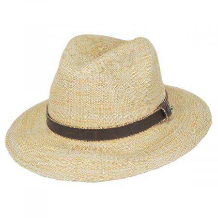 Tommy Bahama Abaco Toyo Straw Safari Fedora Hat