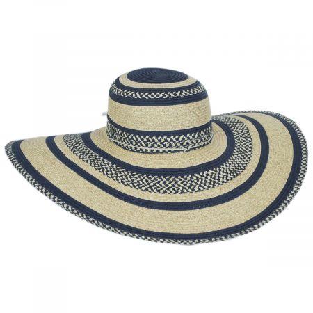 Camila Toyo Straw Blend Swinger Sun Hat