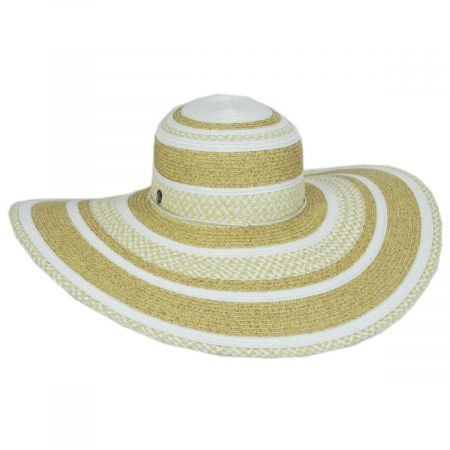 Tommy Bahama Camila Toyo Straw Blend Swinger Sun Hat
