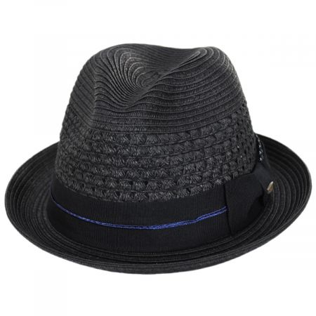Pentani Toyo Straw Fedora Hat alternate view 9