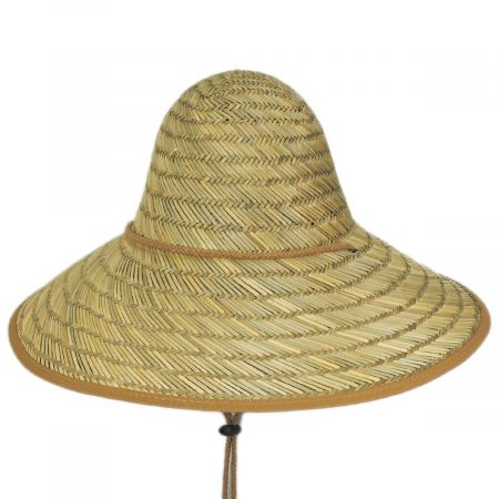 Tillage Rush Straw Conical Coolie Hat alternate view 5