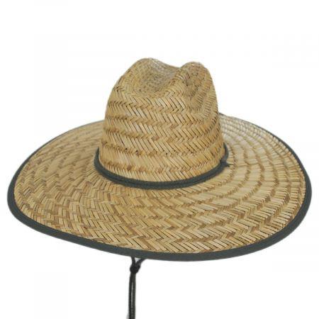 Dorfman Pacific Company Pipa Rush Straw Lifeguard Hat
