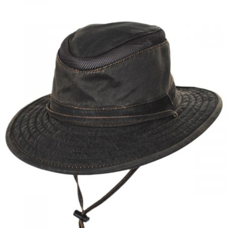 Dorfman Pacific Company Dusk Weathered Cotton Blend Aussie Booney Hat