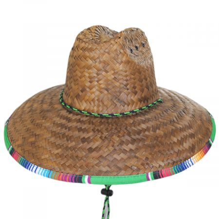 Dorfman Pacific Company Thermal Palm Straw Lifeguard Hat