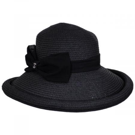 Kamila Toyo Straw Lampshade Sun Hat