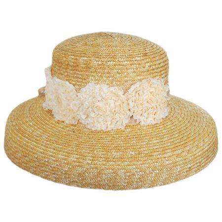 Sue Milan Straw Lampshade Hat