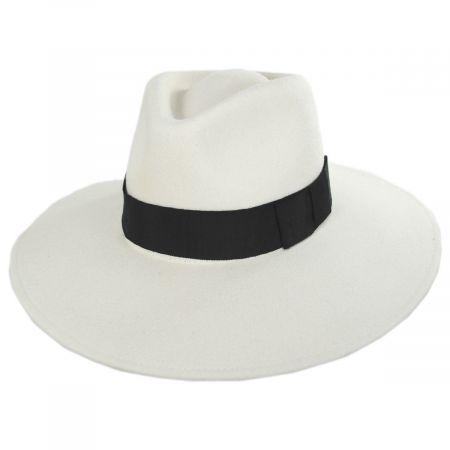 Joanna II Wool Felt Fedora Hat
