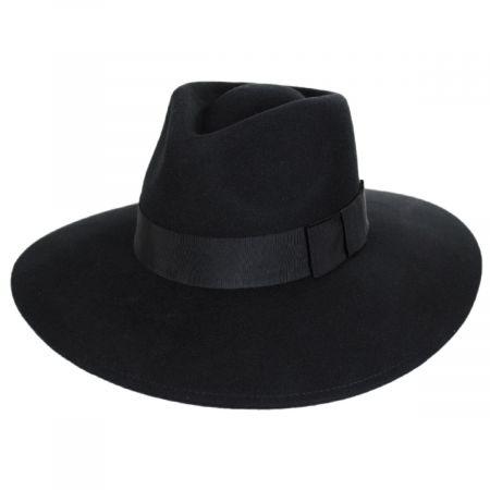 Brixton Hats Joanna Wool Felt Fedora Hat