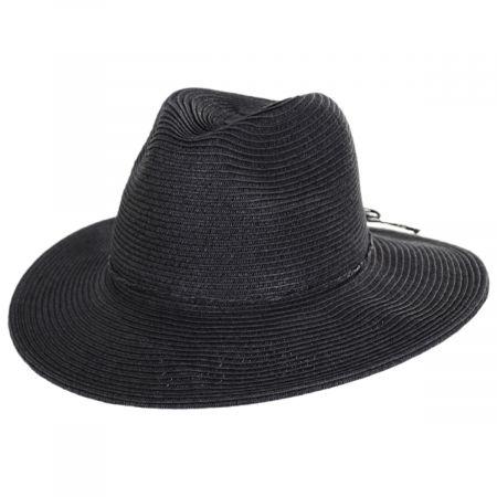 San Diego Hat Company Ultrabraid Water Repellant Toyo Straw Fedora Hat
