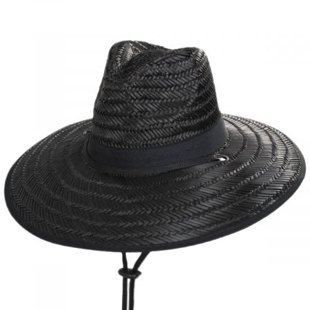 X-Large Brim Straw Lifeguard Hat