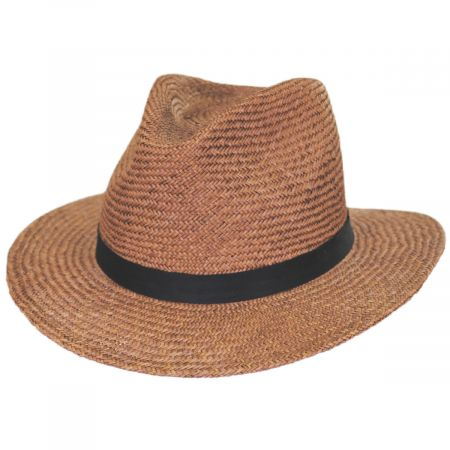 Lera III Palm Straw Fedora Hat