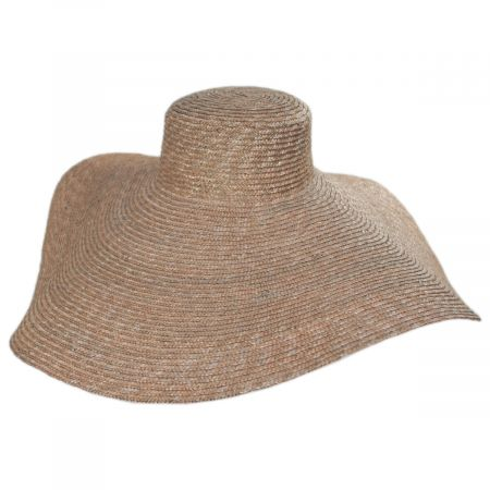 San Diego Hat Company Milan Wheat Straw Boater Hat
