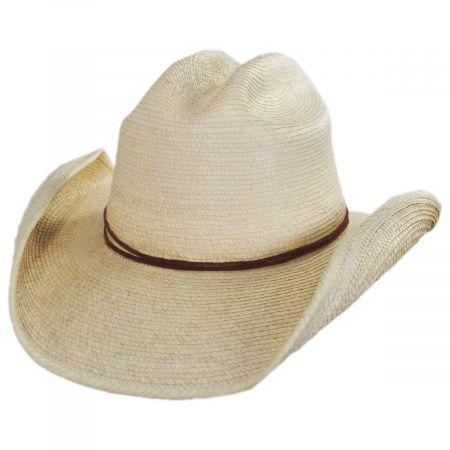 SunBody Hats Crazy Horse Guatemalan Palm Leaf Straw Cowboy Hat