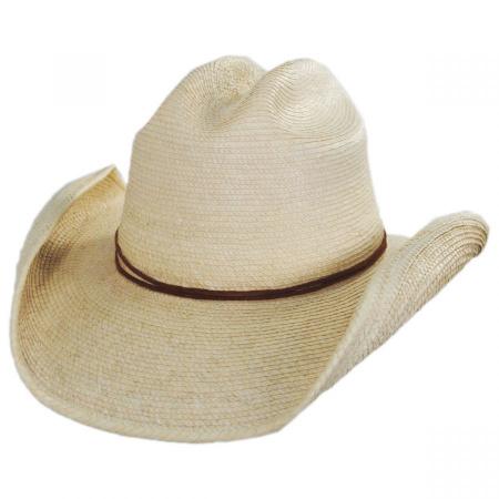 Crazy Horse Guatemalan Palm Leaf Straw Cowboy Hat alternate view 9
