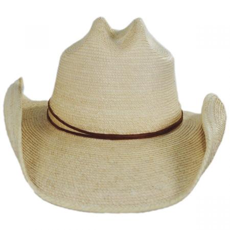 Crazy Horse Guatemalan Palm Straw Cowboy Hat alternate view 13