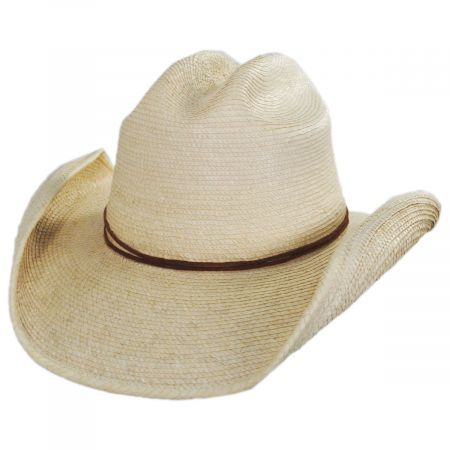 Crazy Horse Guatemalan Palm Straw Cowboy Hat alternate view 29