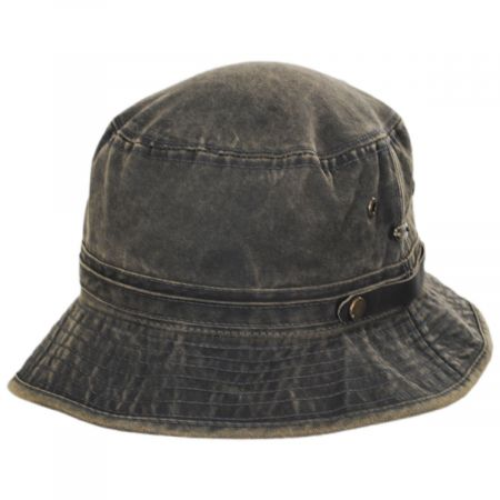 Stetson Storno Weather Cotton Roll Up Bucket Hat