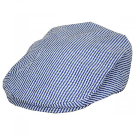 Stetson Striper Seersucker Cotton Ivy Cap