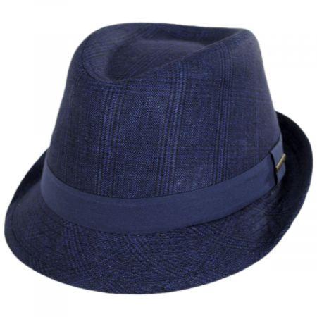 Keeper Plaid Irish Linen Fedora Hat alternate view 13