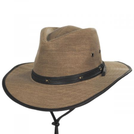 Stetson Hunter Weathered Toyo Straw Outback Hat