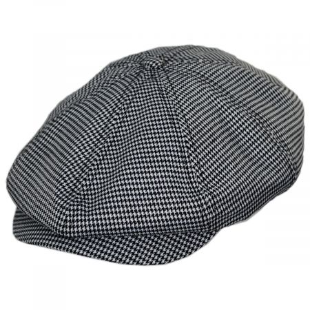 Brixton Hats Brood Houndstooth Newsboy Cap